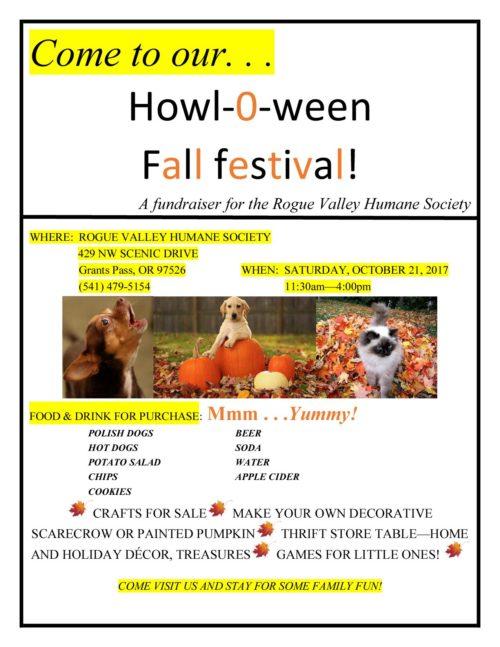 Howl-O-ween Fall Festival!