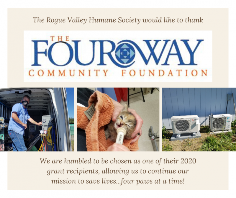 Four Way Community Foundation thank you